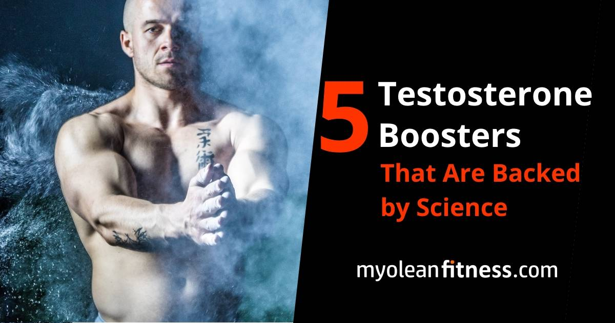 5 Testosterone Boosters That Are Backed by Science