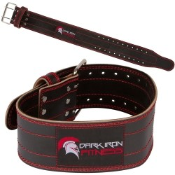 Dark Iron Fitness Weight Lifting Belt - Fitness Gift Ideas - Myolean Fitness 1