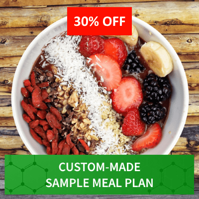 Custom Made Sample Meal Plan - June 2020 - Myolean Fitness