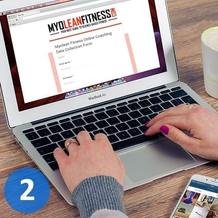 Online Fitness Coaching - Myolean Fitness - Step 2