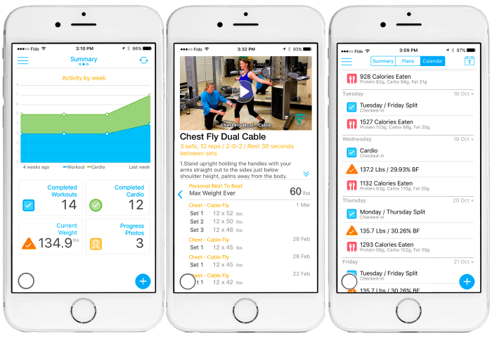 Online Fitness Coaching - Myolean Fitness - Training App