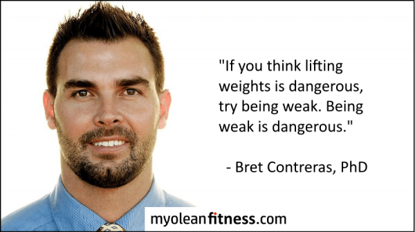 Bret Contreras - Health Benefits of Strength Training - Myolean Fitness