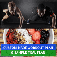 Workout Plan & Sample-Meal Plan for Menu