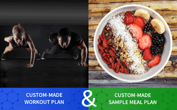Custom Made Workout Plan and Sample Meal Plan for Testimonials (mobile) - Myolean Fitness