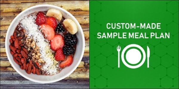 Custom-made sample meal plans - Myolean Fitness