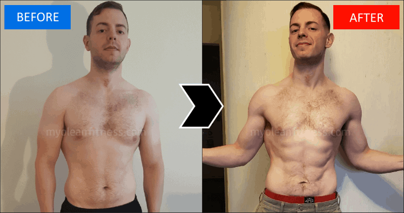 Lucas' Nine-Week Fat Loss Transformation 800 - Myolean Fitness