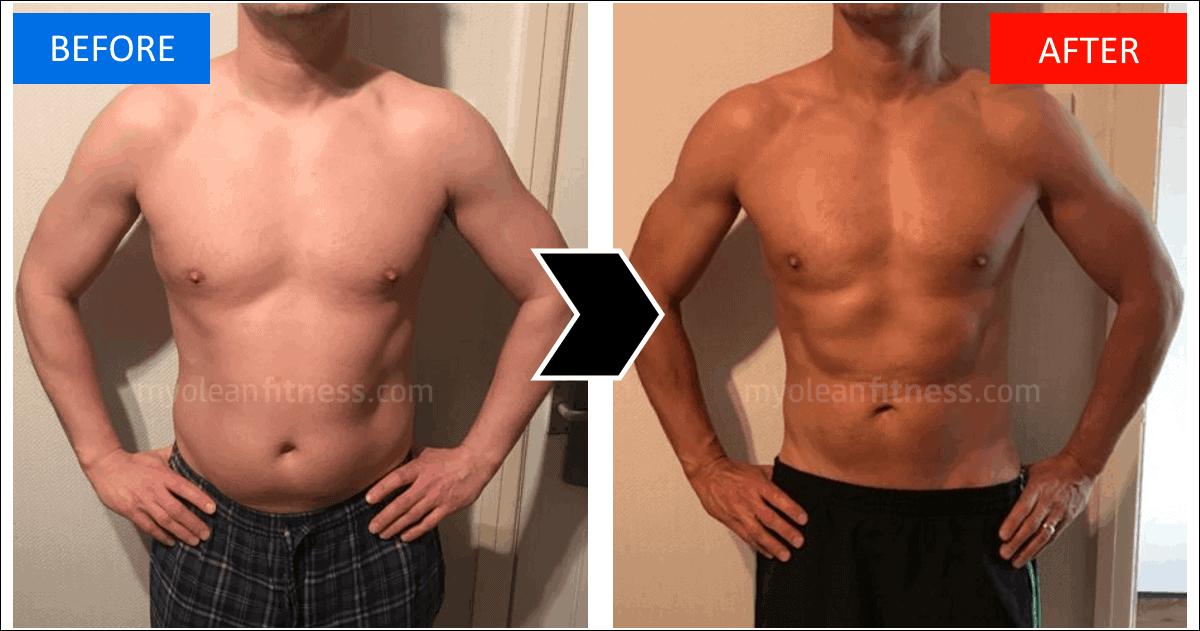 Ian's Fat Loss Transformation - Myolean Fitness