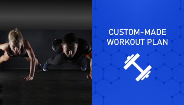 Custom-Made Workout Plan for Quiz - Myolean Fitness