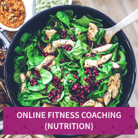 Online Fitness Coaching (Nutrition) for Menu April 2020 - Myolean Fitness