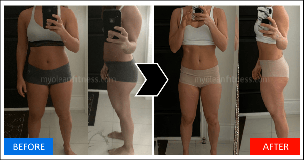 Anna Fat Loss Transformation 600 - Myolean Fitness