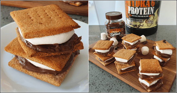 High Protein S'mores Recipe - Myolean Fitness 600
