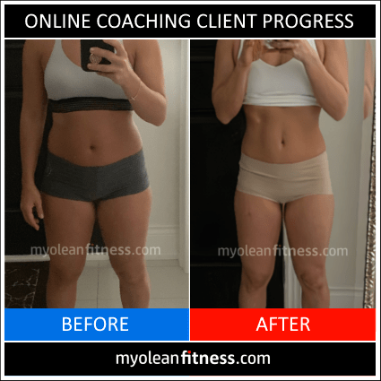 Online Coaching Client Transformation 6b - Myolean Fitness