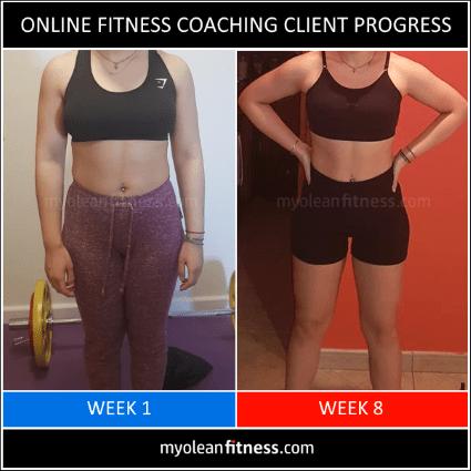 Online Fitness Coaching Transformation 7 - Myolean Fitness