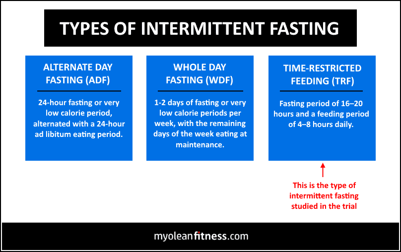 Time Restricted Feeding vs Conventional Meal Timing - Types of IF - Myolean Fitness