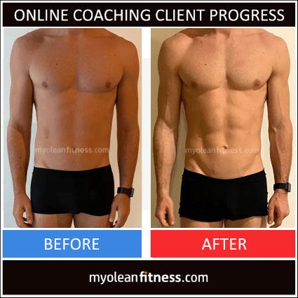Online Fitness Coaching Transformation 8 - Myolean Fitness